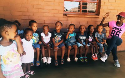 LTG Wooden bench donation to Tumelong Day Care Centre